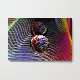 Pixelated Metal Print
