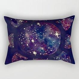 Galaxy Sun Rectangular Pillow