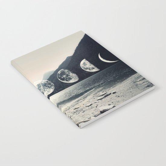Moonlight Mountains Notebook