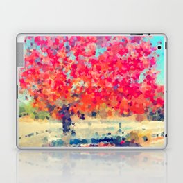 Orange Tree Watercolor  Laptop & iPad Skin