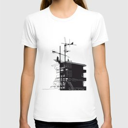 French rooftops T-shirt
