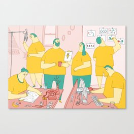 Superdoodle Canvas Print