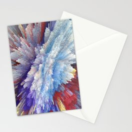 Abstract 115 Stationery Cards