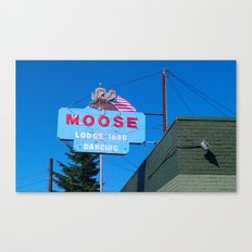 A Moose is a Moose Canvas Print
