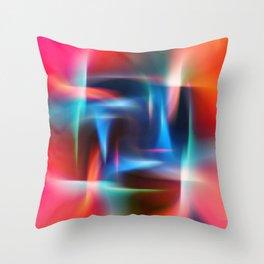 Abstract Mandala Throw Pillow