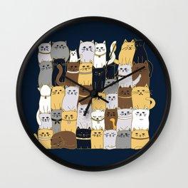 The Glaring - Parisian Palette Wall Clock