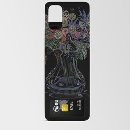 Floral Octopus Vase Android Card Case