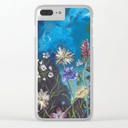 Where the Wildflowers Are Clear iPhone Case