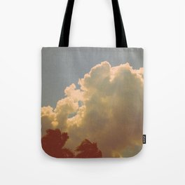 Palms & Clouds Tote Bag