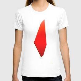 Abstract Re-Created Painting in Space T-shirt
