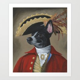 Sir Martin Conley Art Print