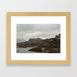 Lake Powell Storm Framed Art Print