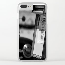 Simple Times 4 Clear iPhone Case