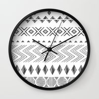 nordic Wall Clocks featuring NORDIC by Annet Weelink Design