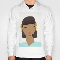 egypt Hoodies featuring Egypt by TatyMolanphy