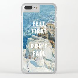 Childe Hassam, The South Ledges, Appledore (1913) / Halsey, Roman Holiday (2015) Clear iPhone Case