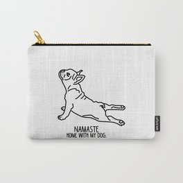 Yoga Dog - Namaste Frenchie Carry-All Pouch