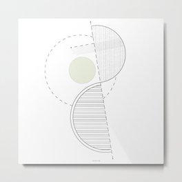 Mutation Metal Print