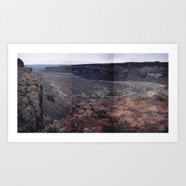 Frenchman Coulee Art Print