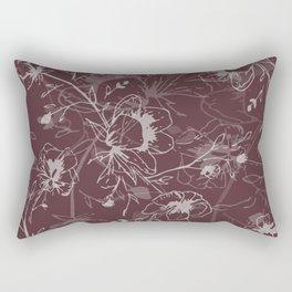 Cherry Blossom Tree - Chestnut Rectangular Pillow