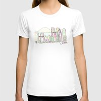 tokyo T-shirts featuring Tokyo by Ursula Rodgers
