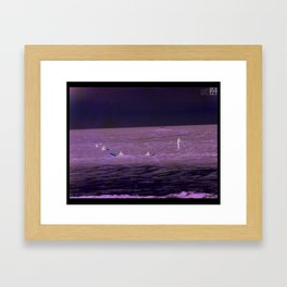 SEA AT4 Framed Art Print
