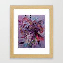 The Autumn Birch Framed Art Print