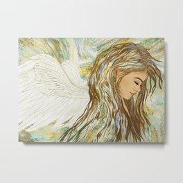 Angel girl Metal Print
