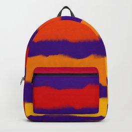 Sapphire Sunset Stripes Backpack