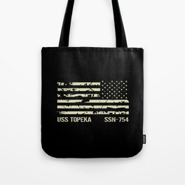 USS Topeka Tote Bag