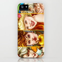 The Golden Goddesses  iPhone Case