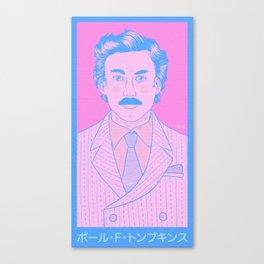 Pōru F. Tonpukinsu Canvas Print