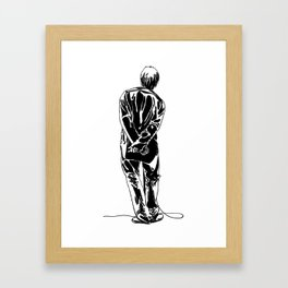 Liam Gallagher Oasis Framed Art Print