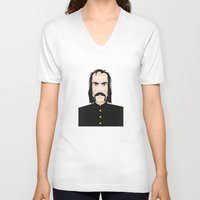 nick cave V-neck T-shirts featuring Nick cave by Matteo Lotti