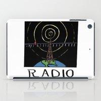 radio iPad Cases featuring Radio by Ken Coleman