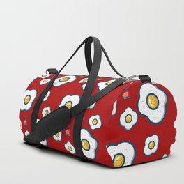 eggs red Duffle Bag