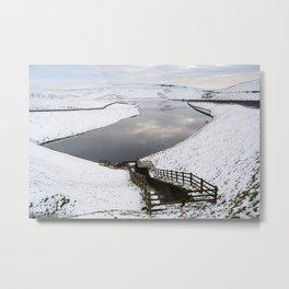 Dovestone reservoir, Saddleworth Moors Metal Print
