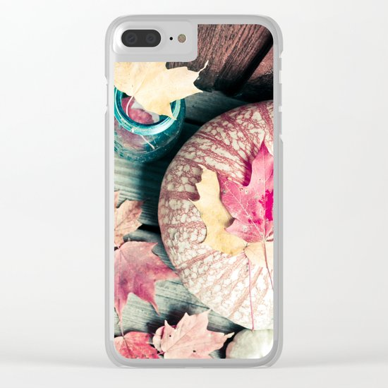 Sweet Autumn Clear iPhone Case