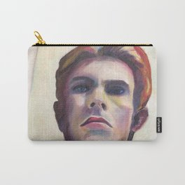 David Bowie taking a Selfie Carry-All Pouch