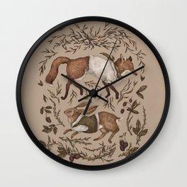 Tricksters Wall Clock