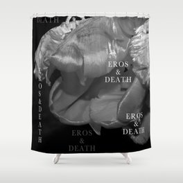 EROS and DEATH Shower Curtain