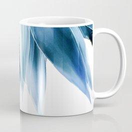 Agave geo fringe - blue Coffee Mug