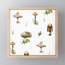 OIN011 Mushroom AOP Framed Mini Art Print