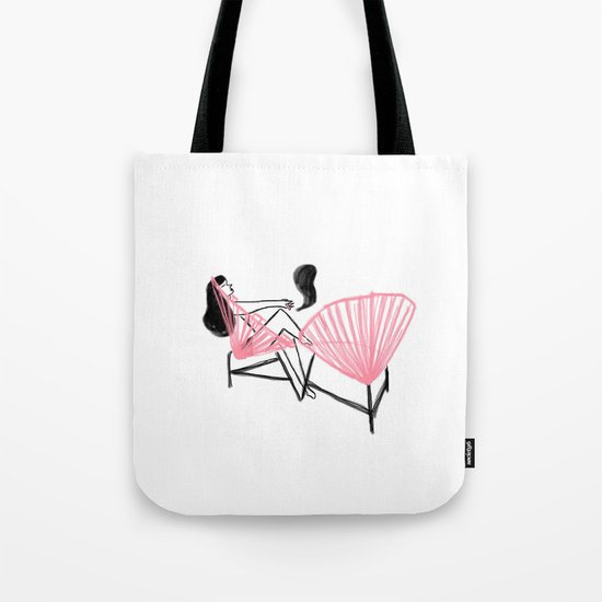 String Chair Tote Bag