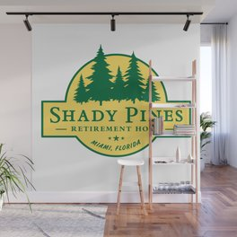 Shady Pines Retirement Home – The Golden Girls Wall Mural