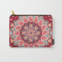 Elegant Paisley Carry-All Pouch