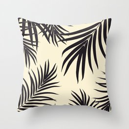 Palm Leaves Pattern Summer Vibes #8 #tropical #decor #art #society6 Throw Pillow