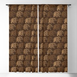 Bear Spirit Blackout Curtain