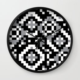 "Modular Analysis ""Rings, Rings, Rings"" Wall Clock"