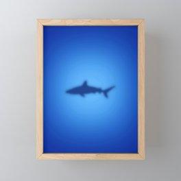 Shark Framed Mini Art Print